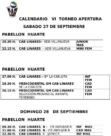Calendario Modificado